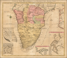 South Africa Map By Tobias Conrad Lotter