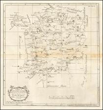 British Counties Map By Henry Beighton