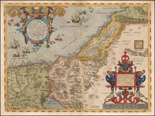 Middle East and Holy Land Map By Abraham Ortelius