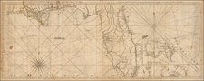 Florida, South and Caribbean Map By Thomas Jefferys