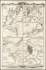 New England, Southeast, North America and Boston Map By Thomas Conder