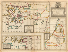 Mediterranean, Holy Land and Turkey & Asia Minor Map By Edward Wells