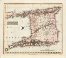 Caribbean Map By Fielding Lucas Jr.