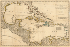 Caribbean Map By Samuel Dunn