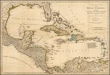 Caribbean Map By Samuel Dunn