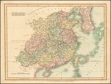 China and Korea Map By Charles Smith