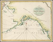 Alaska and Canada Map By Malham