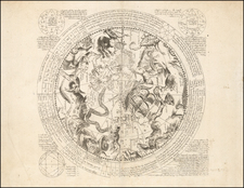 Celestial Maps Map By Antoine De Fer