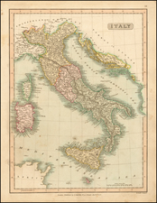 Italy Map By Charles Smith