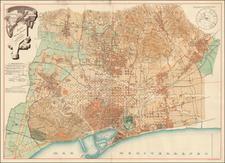 Spain Map By D. J. M. Serra