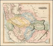Middle East Map By Fielding Lucas Jr.
