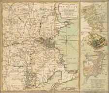 New England Map By Robert Sayer  &  John Bennett