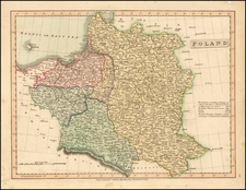 Poland Map By Charles Smith