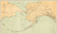 Alaska Map By U.S. Coast & Geodetic Survey