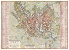 Germany Map By Samuel Graf von Schmettau