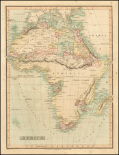 Africa and Africa Map By Charles Smith