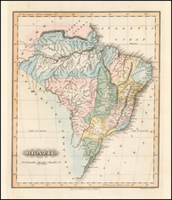Brazil Map By Fielding Lucas Jr.