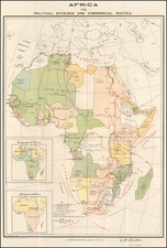 Africa and Africa Map By Norris Peters Co.