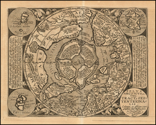 Northern Hemisphere and Polar Maps Map By Matthias Quad