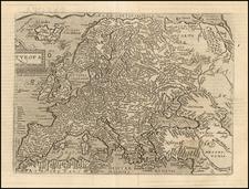 Europe Map By Matthias Quad / Johann Bussemachaer