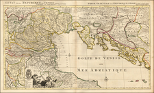Balkans and Italy Map By Pieter Mortier