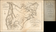 Texas, Midwest, Plains and Rocky Mountains Map By Zebulon Montgomery Pike