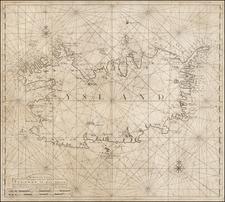 Iceland Map By Johannes II Van Keulen