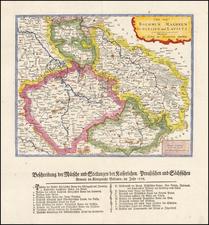 Czech Republic & Slovakia Map By Gabriel Nikolaus Raspe