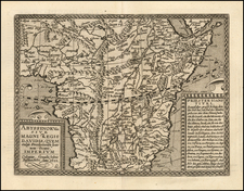 Africa, Africa, South Africa and East Africa Map By Matthias Quad / Johann Bussemachaer