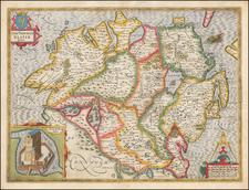 John Speed Map Of Ireland.John Speed Barry Lawrence Ruderman Antique Maps Inc