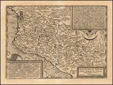 Mexico Map By Matthias Quad - Johann Bussemachaer