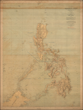 Philippines Map By U.S. War Department / Direccion Hidrografica de Madrid
