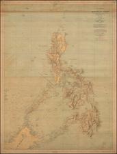 Philippines Map By U.S. War Department / Direccion Hidrografica de Madrid