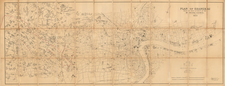 China Map By Waterlow & Sons