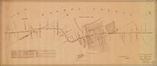 Nevada and California Map By Virginia & Truckee Railway