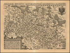 Poland Map By Matthias Quad / Johann Bussemachaer