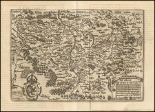 Czech Republic & Slovakia Map By Matthias Quad / Johann Bussemachaer