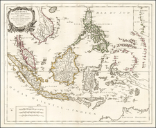 Southeast Asia, Philippines and Australia Map By Paolo Santini