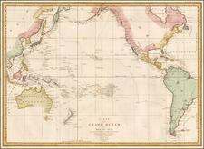 Australia & Oceania, Pacific, Australia and Oceania Map By Jean Francois Galaup de La Perouse