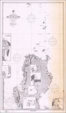 Philippines Map By U.S. Navy Hydrographic Office
