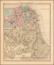 California and San Francisco & Bay Area Map By O.W. Gray