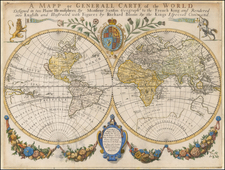 World and World Map By Richard Blome