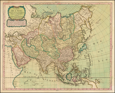 Asia and Asia Map By Pierre Bourgoin