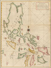 Philippines Map By George Anson / Richard William Seale