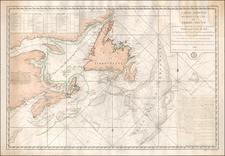 Canada Map By Depot de la Marine