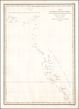 Oceania and Other Pacific Islands Map By L.I. Duperrey