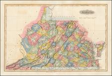 Southeast Map By Fielding Lucas Jr.