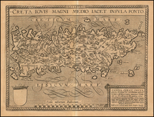Greece Map By Matthias Quad / Johann Bussemachaer