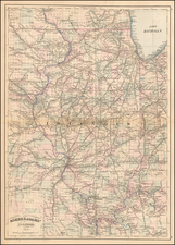 Illinois Map By Asher  &  Adams