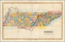 South Map By Fielding Lucas Jr.